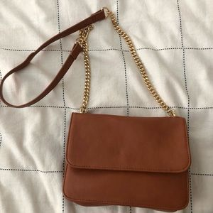 Forever 21 Brown Square Bag